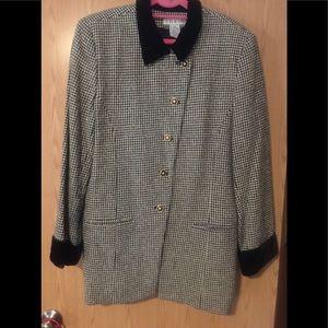 Women's size 14 vintage tweed pant suit